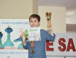 Filip Magold – Patru medalii la Naționalele de șah pentru copii