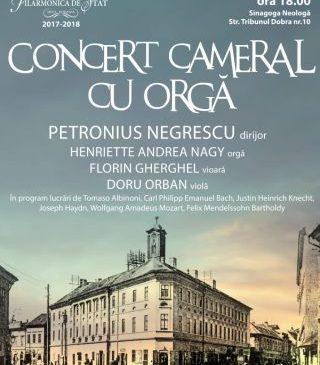 Concert cameral la Sinagoga Neologă din Arad