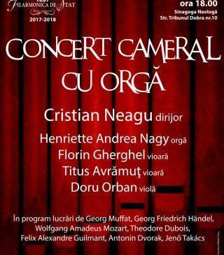 Concert simfonic la Sinagoga neologă