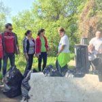 """Deșeuri colectate de voluntarii RO100Arad în cadrul proiectului """"Curat la parcat"""""""