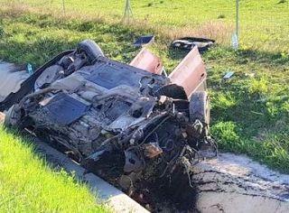 Accident pe A1. Un tânăr a murit, iar patru persoane sunt rănite