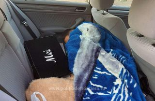 Copil ascuns sub o pătură într-un BMW, găsit la frontieră