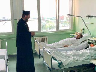 PS Părinte Emilian Crișanul a vizitat Spitalul Clinic Județean din Arad
