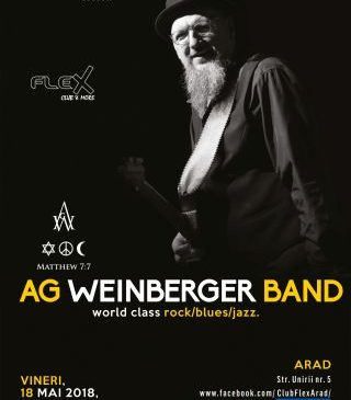 Concert extraordinar AG Weinberger Band, la Arad
