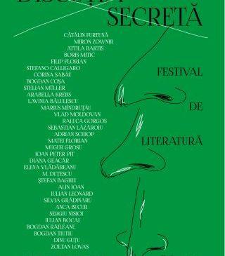 """Festivalul internațional de literatură """"Discuția secretă"""" ediția a V-a, la Arad. PROGRAM"""