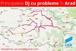 """USR Arad continuă proiectul """"Drumurile la control"""""""