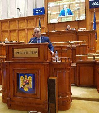 """Declarație în Parlament: """"Corupția administrației PNL transformă Aradul într-o capitală europeană a gunoaielor"""""""