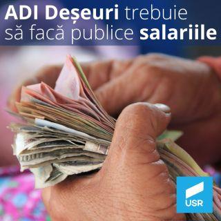 USR Arad cere să fie făcute publice salariile de la ADI Deșeuri