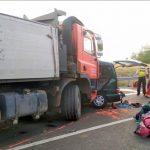 Nouă români au murit într-un accident rutier produs în Ungaria