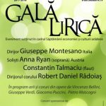 Gală lirică la Filarmonica de Stat Arad. PROGRAM
