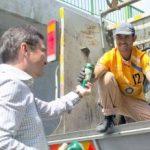 Viceprimarul Bibarț i-a cinstit cu bere pe angajații RETIM