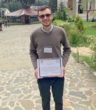 Premiu obținut de un student al Facultății de Teologie din Arad