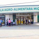 A fost deschisă hala agroalimentară din Piața Miorița