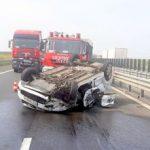 Accident pe autostrada A1 Arad – Timişoara