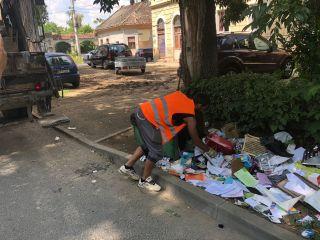 Sancţiuni pentru gunoiul aruncat pe domeniul public