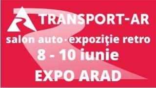Transport AR revine în 8-10 iunie la Expo Arad