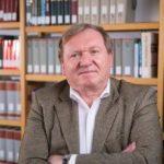 Josef Wolf de la Institutul pentru Istoria și Geografia Regională a Șvabilor Dunăreni din Tübingen, la Arad