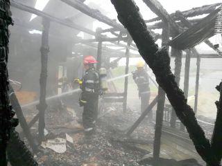 Incendiu la azilul de bătrâni din Pâncota