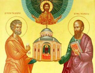 Începe postul Sfinţilor Apostoli Petru şi Pavel, cei doi stâlpi ai bisericii creştine