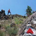 Au fost amenajate două trasee turistice în zona Cetății Dezna