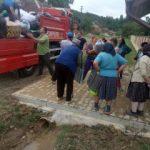 Ajutoare pentru sinistrații din Lalașinț