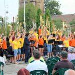 Spectacol cu cinci fanfare, în Parcul Reconcilierii