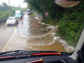 UPDATE 2 Gospodării inundate pe Valea Mureşului în urma unei ploi torenţiale