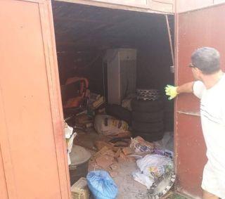 Ce depozitau arădenii în garajele demolate de Primărie