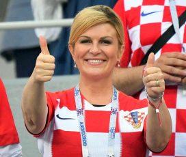 """Ionuț Popa """"a pus ochii"""" pe preşedinta Croaţiei"""