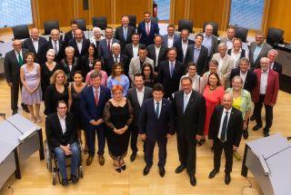 A fost semnat acordul de înfrăţire dintre Arad şi Tübingen