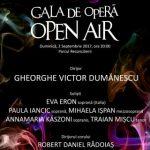 """Gala de operă """"Open Air"""". Operetă vieneză, muzică de film, muzică ușoară românească"""