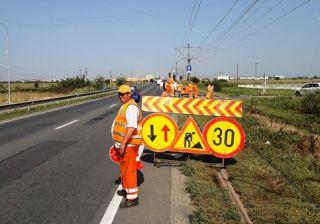 CNAIR a redeschis accesul din DN 7 spre Via Carmina şi Europa
