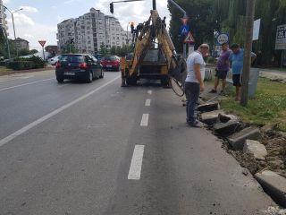Lucrări la carosabil și trotuare pe mai multe străzi din municipiul Arad