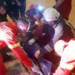 Bărbat îngropat în porumb, într-un depozit din Vladimirescu