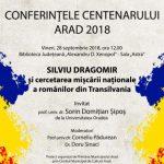Prof. univ. dr. Sorin Șipoș de la Universitatea din Oradea va conferenția la Arad
