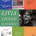 """Întâlniri autor – public la Biblioteca Județeană. """"Livia Ciupav se prezintă"""""""