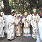 """Trei ierarhi au participat la hramul Mănăstirii ,,Sfântul Simeon Stâlpnicul"""" Arad – Gai"""