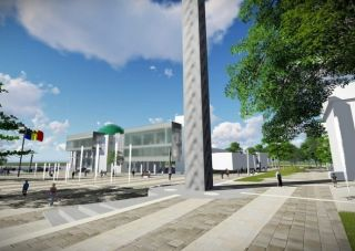 Sculptorul Florin Codre nu vrea ca Monumentul Marii Uniri să fie amplasat în fața CJ Arad