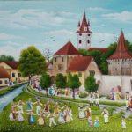 Curs de pictură naivă la Şcoala Populară de Arte Arad