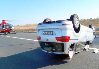 Accident pe A1, în apropiere de Nădlac. O persoană a murit, alte trei sunt rănite