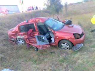 Accident la Zimandu Nou. Patru persoane au fost transportate la spital