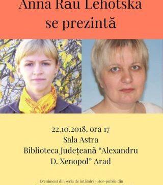 Întâlniri autor-public la Biblioteca Județeană. Scriitoarele Ana Dovaly și Anna Lehotska se prezintă