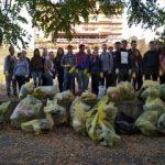 Acțiune voluntară de ecologizare în zona Podului Traian