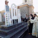 Mitropolitul Banatului a sfințit monumentul închinat eroilor din Parohia Hălmăgel