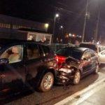 UPDATE Coliziune între patru mașini, în cartierul Grădiște