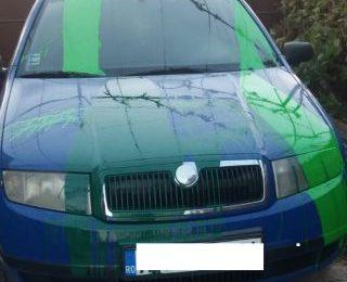 Răzbunare. Mașina unui polițist din Nădlac, vandalizată de trei tineri