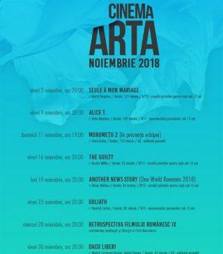 Filme de festival și premiere, la Cinematograful Arta, în noiembrie. PROGRAM