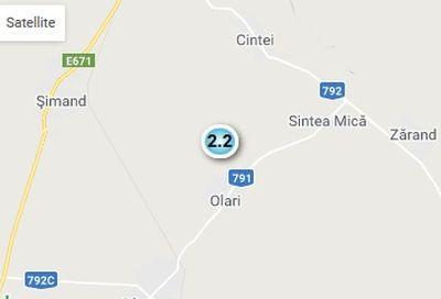 Cutremur cu magnitudinea 2,2, în județul Arad