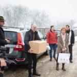 Majestatea Sa Margareta a oferit daruri unor locuitori din Săvârșin