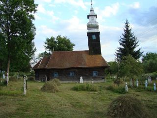 Bisericile de lemn din Bodești și Cristești, comuna Hălmagiu